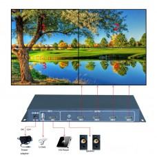 HDMI контроллер видеостены 4x1 KS-W4