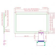"Ёмкостной сенсорный экран 10,1"" EG10.1-A-1609V1 с USB"