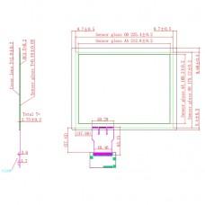 "Ёмкостной сенсорный экран 10,4"" EG10.4-A-0403V1 с USB"
