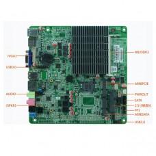 Материнская плата Mini-ITX с процессором ITX-M50_N18 V1.5
