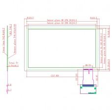 "Ёмкостной сенсорный экран 11,6"" EG11.6-A-1609V1 с USB"