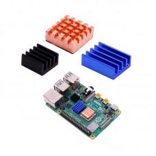 Комлект медных радиаторов для Raspberry Pi 4