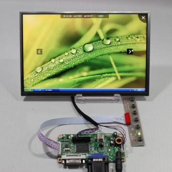 """Дисплей 10,1"""" B101EW05 V0 с контроллером M.RT2261.5B"""